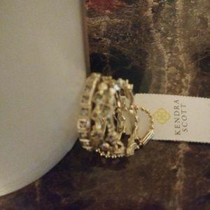 Kendra Scott Karis Gold Stackable Rings